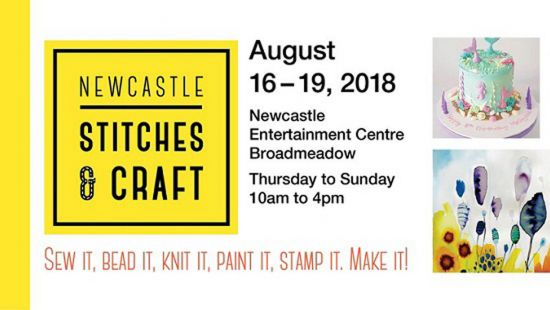 NEWCASTLE STITCHES & CRAFT Show organisers are raising funds for the Hunter Farming Community