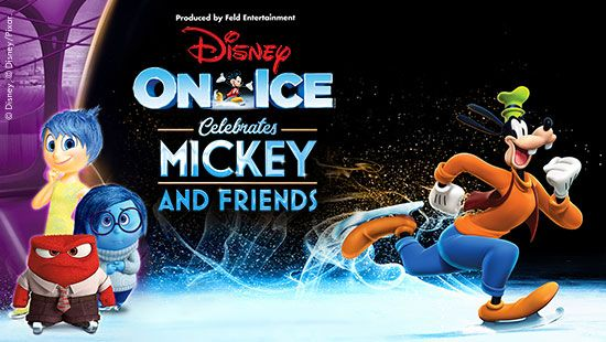 Disney On Ice celebrates Mickey and Friends at the Newcastle Entertainment Centre