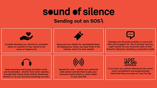 Sound of Silence is 'sending out an SOS'
